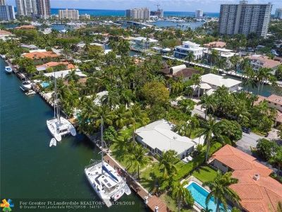Fort Lauderdale Single Family Home For Sale: 2423 Castilla Isle