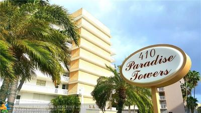Hallandale Condo/Townhouse For Sale: 410 Golden Isles Dr #202
