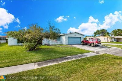Pembroke Pines Single Family Home Backup Contract-Call LA: 2040 NW 85th Ave