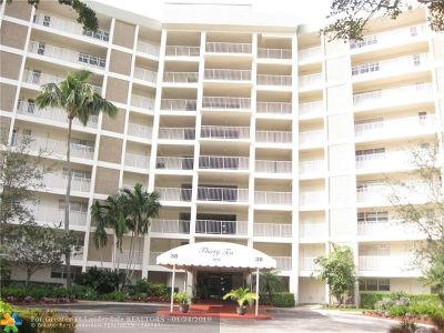 Pompano Beach Condo/Townhouse For Sale: 3010 N Course Dr #706