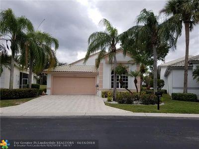 Boynton Beach Single Family Home For Sale: 11893 Fountainside Cir