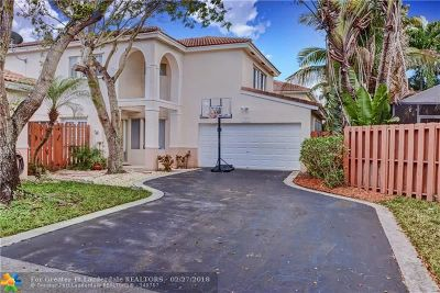 Coconut Creek Single Family Home For Sale: 523 NW 47th Way