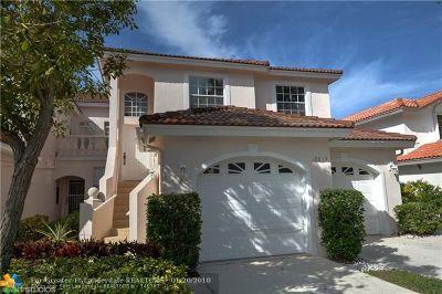 Boca Raton Condo/Townhouse For Sale: 12613 Remo Ct #66U
