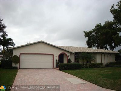Coral Springs Single Family Home For Sale: 8400 NW 26th Dr