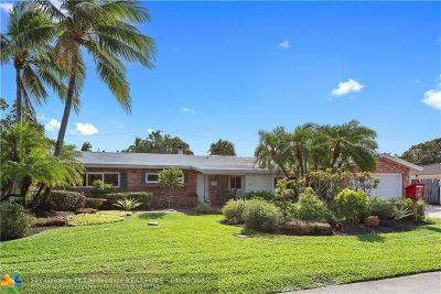 Fort Lauderdale Single Family Home For Sale: 2632 NE 26th Ct