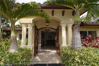 Pompano Beach Single Family Home For Sale: 3403 Barton Rd
