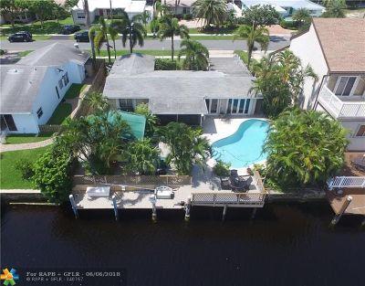 Pompano Beach Single Family Home For Sale: 291 SE 11th St