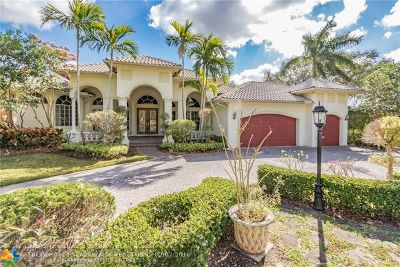 Coral Springs FL Single Family Home For Sale: $839,999