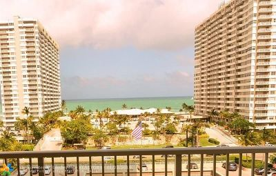Hallandale Condo/Townhouse For Sale: 1985 S Ocean Dr #MP