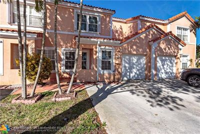 Miramar Condo/Townhouse For Sale: 2310 SW 84th Ter #