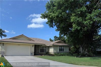 Coral Springs FL Single Family Home For Sale: $419,900