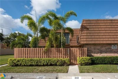 Cooper City Condo/Townhouse Backup Contract-Call LA: 2566 Lakeview Court #2566