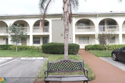 Coconut Creek FL Condo/Townhouse For Sale: $89,000