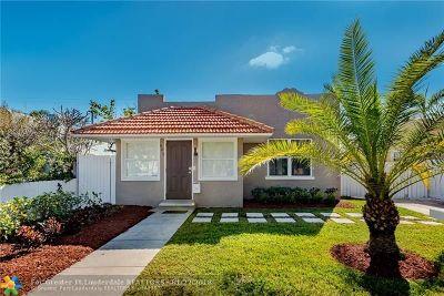 West Palm Beach Single Family Home For Sale: 602 Avon Rd
