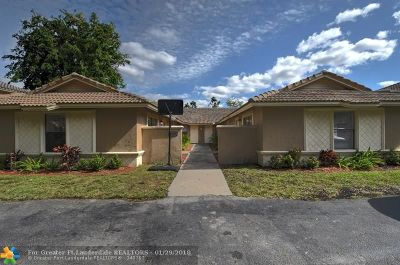 Coral Springs Multi Family Home Backup Contract-Call LA: 4141 NW 114th Ave