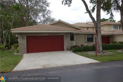Deerfield Beach Single Family Home For Sale: 3391 Lake Shore Dr