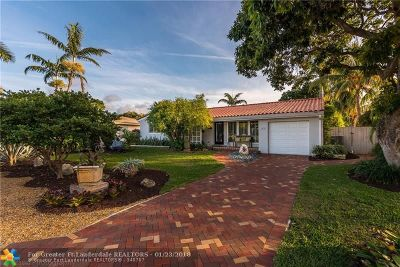 Wilton Manors Single Family Home For Sale: 1632 NE 28th St