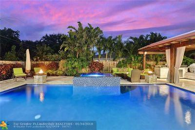 Fort Lauderdale Single Family Home For Sale: 2700 NE 26th Ter