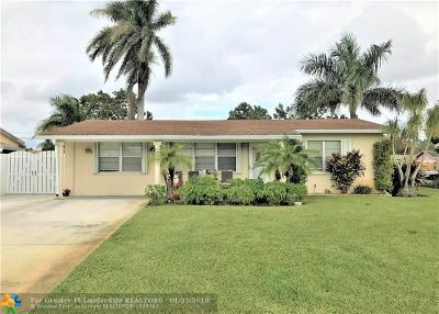 Lake Worth Single Family Home For Sale: 4181 Colle Dr