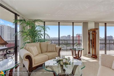 Hallandale Condo/Townhouse For Sale: 2049 S Ocean Dr #1509
