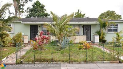 Miami Multi Family Home For Sale: 19211 NW 36th Ave