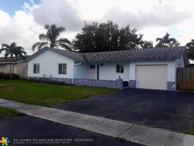 Lauderhill Single Family Home Backup Contract-Call LA: 8080 NW 47th St