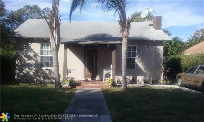 West Palm Beach Single Family Home For Sale: 623 47th St