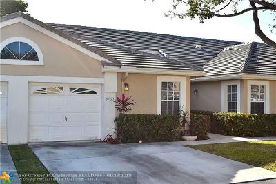 Coral Springs Condo/Townhouse For Sale: 8763 Forest Hills Blvd #32-G