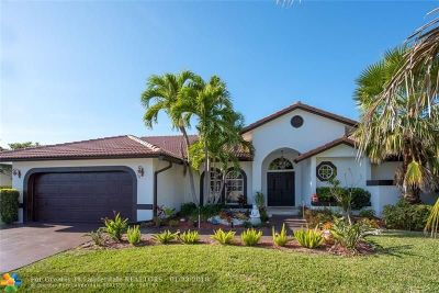 Tamarac Single Family Home For Sale: 7915 NW 85th Ter