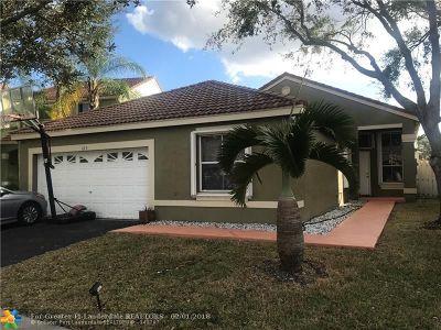 Weston Single Family Home Backup Contract-Call LA: 629 Stanton Ln
