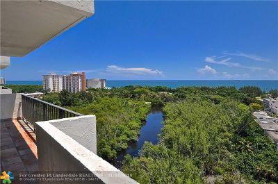 Condo/Townhouse Sold: 777 Bayshore Dr #1504