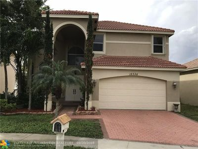 Coral Springs Rental For Rent: 12336 NW 26th St