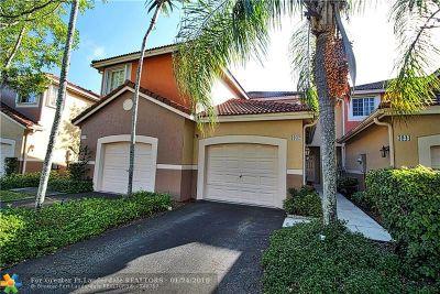 Weston Condo/Townhouse For Sale: 3942 San Simeon Ln #3942