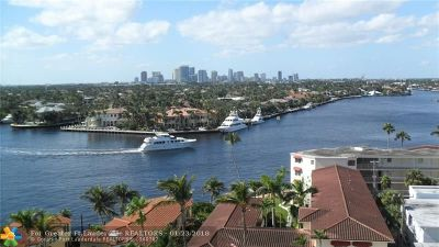 Fort Lauderdale Condo/Townhouse For Sale: 336 N Birch Road #10A