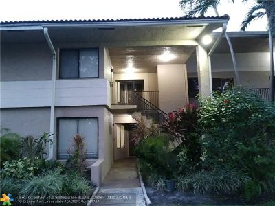 Coral Springs FL Condo/Townhouse For Sale: $180,000
