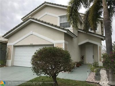 Parkland Single Family Home For Sale: 7853 NW 70th Ave