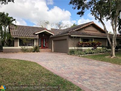 Coral Springs Single Family Home For Sale: 10197 Ramblewood Dr