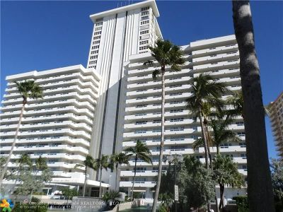 Fort Lauderdale Condo/Townhouse For Sale: 3900 Galt Ocean Dr #2104