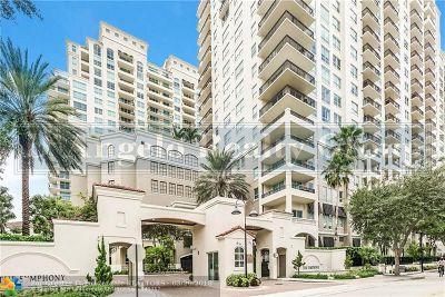 Fort Lauderdale Condo/Townhouse For Sale: 610 W Las Olas Blvd #1712