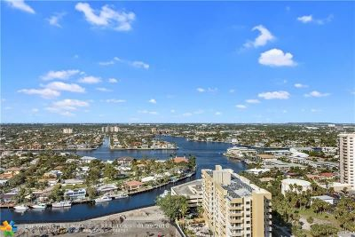 Pompano Beach Condo/Townhouse For Sale: 1340 S Ocean Blvd #2309
