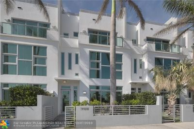 Pompano Beach Condo/Townhouse Backup Contract-Call LA: 709 Briny Ave #709