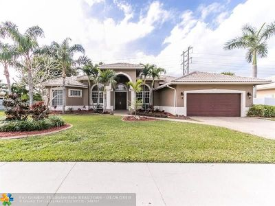 Davie Single Family Home For Sale: 6161 SW 158th Way