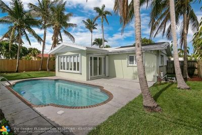 Lauderdale By The Sea Single Family Home For Sale: 3220 Cypress Creek Dr