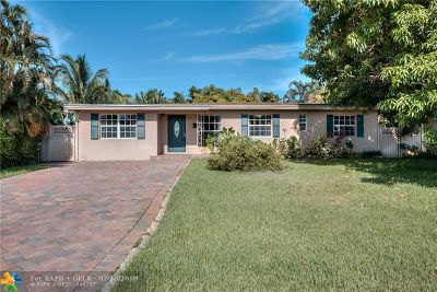 Wilton Manors Single Family Home For Sale: 2840 NW 3rd Ave