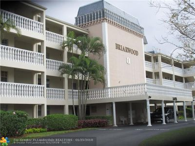 Coral Springs Condo/Townhouse For Sale: 3475 Brokenwoods Dr #305