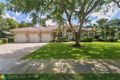 Davie Single Family Home For Sale: 2250 SW 102 Dr