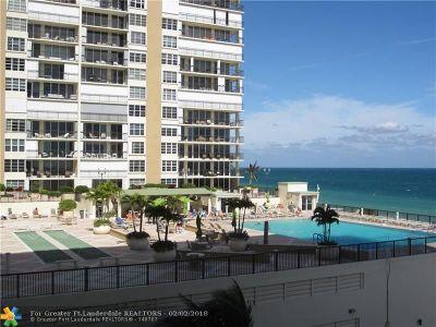 Condo/Townhouse For Sale: 4250 Galt Ocean #4 R