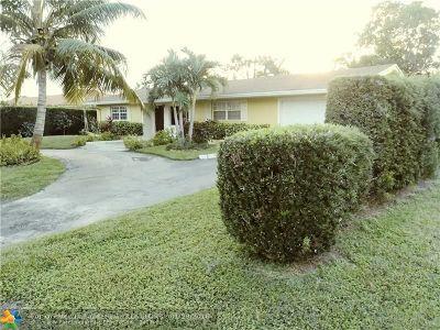 West Palm Beach Single Family Home For Sale: 1141 Edgehill Rd