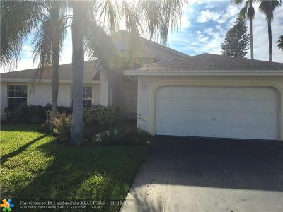 Sunrise Single Family Home Backup Contract-Call LA: 4809 NW 97th Ter