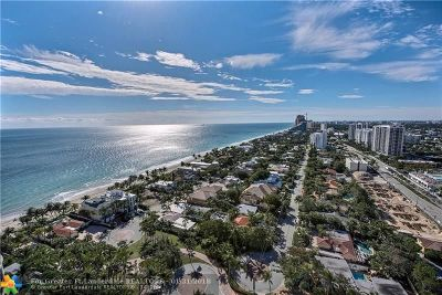 Condo/Townhouse Sold: 3100 N Ocean Blvd #2207